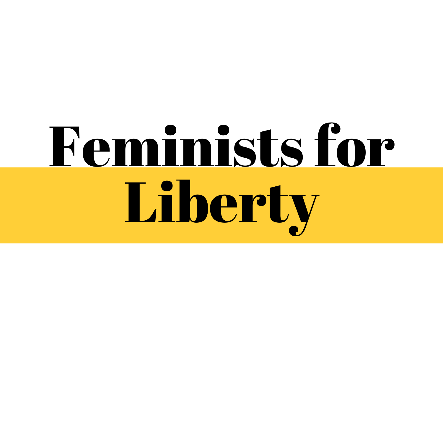 Sponsored link to Feminists for Liberty